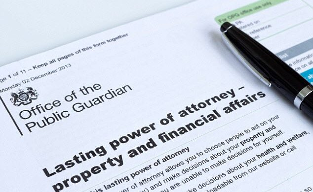 lasting power of attorney will writing uk